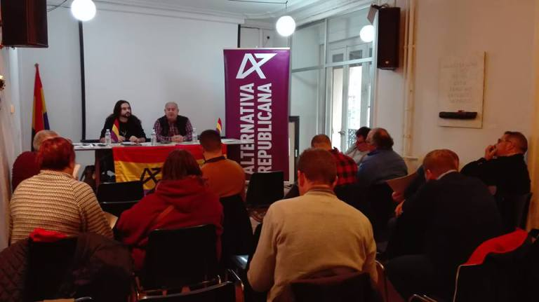 Congreso Extraordinario y Comité Federal de Alternativa Republicana en Madrid