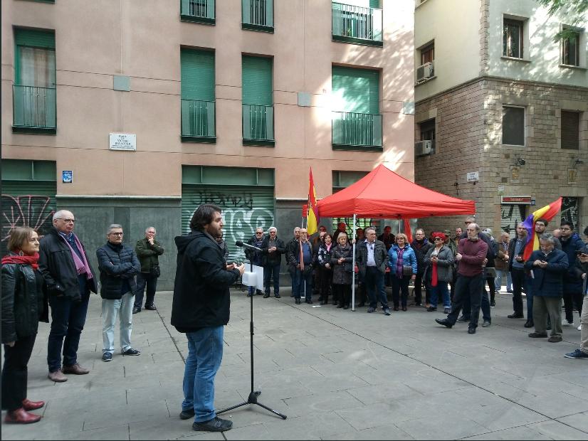 Commemoració del 146 aniversari de la proclamació de la I República Espanyola